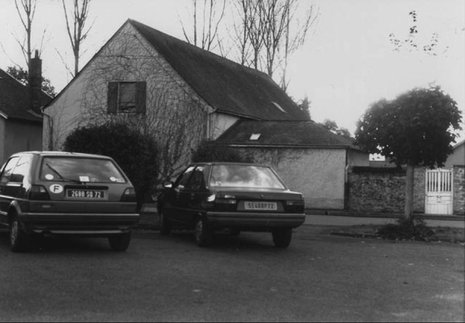 La maison de Pierre et Henriette Reverdy à Solesmes.